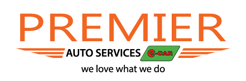 Premier-Auto-Services e-CAR logo