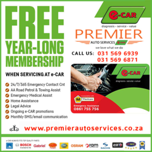 Premier Auto Services e-CAR Book a Service