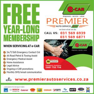 Premier Auto Services e-CAR Book a Service