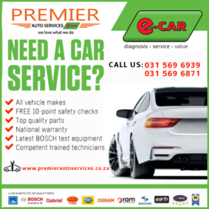 Premier Auto Services e-CAR Book-a-service