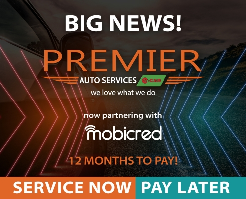 Exciting news for 2020! Premier Auto Services e-CAR - credit partner mobicred